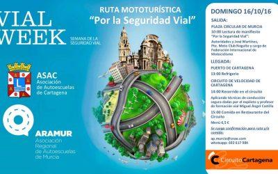 """Ruta Motorística """"Por la Seguridad Vial"""""""